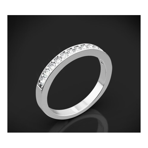 "Diamond wedding ring from the ""Star Sky"" collection 156"