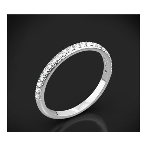"Diamond wedding ring from the ""Star Sky"" collection 163"