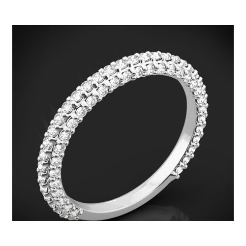 "Diamond wedding ring from the ""Star Sky"" collection 165"