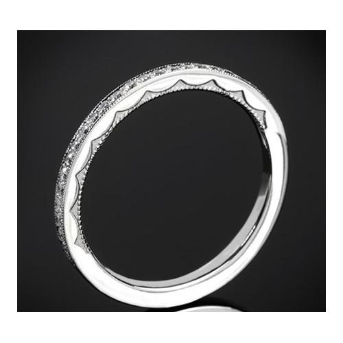 """Диамантена брачна халка с от колекцията """"Звездно небе"""", изработена от 18к злато, с широчина 1,7 мм и диаманти с общо тегло 0,17"""