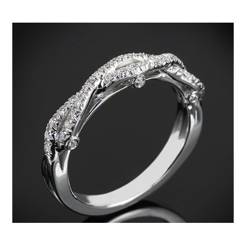 "Diamond wedding ring from the ""Star Sky"" collection 175"