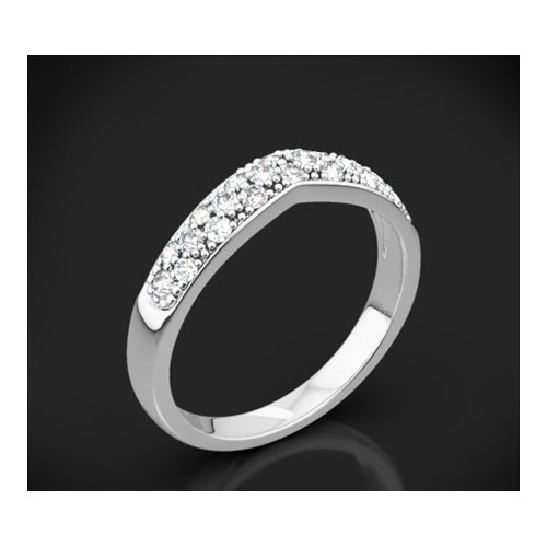 "Diamond wedding ring from the ""Star Sky"" collection 176"