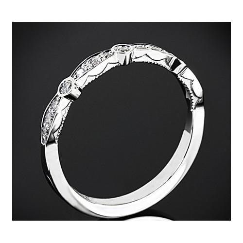 """Диамантена брачна халка от колекция """"Звездно небе"""" 177"""