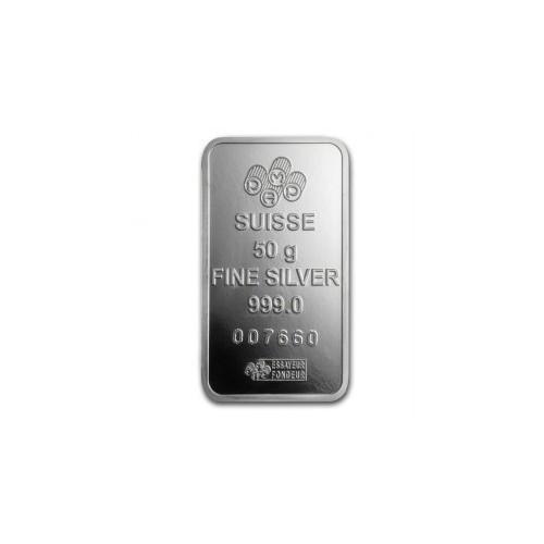 Silver bar 50 g