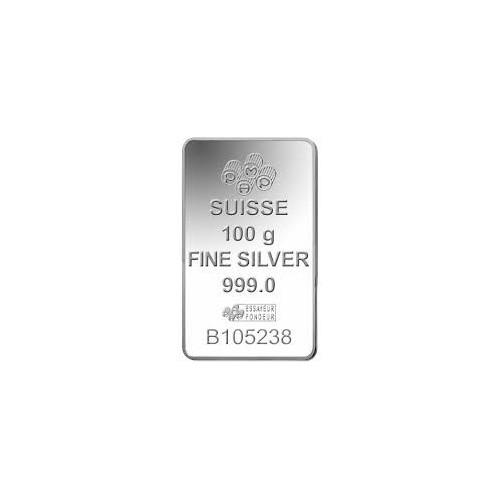 Silver bar 100 g