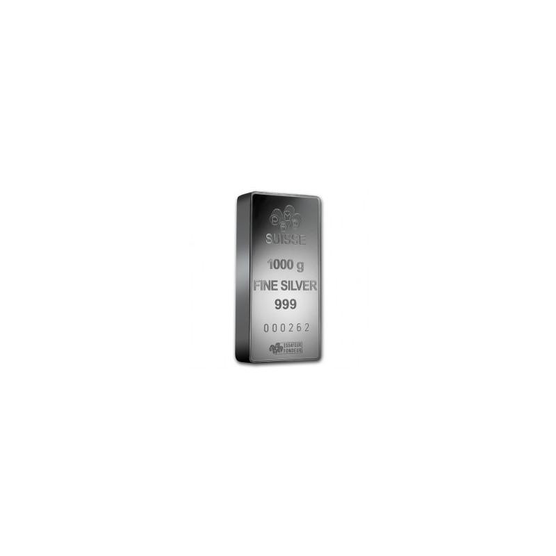 Silver bar 1000 g