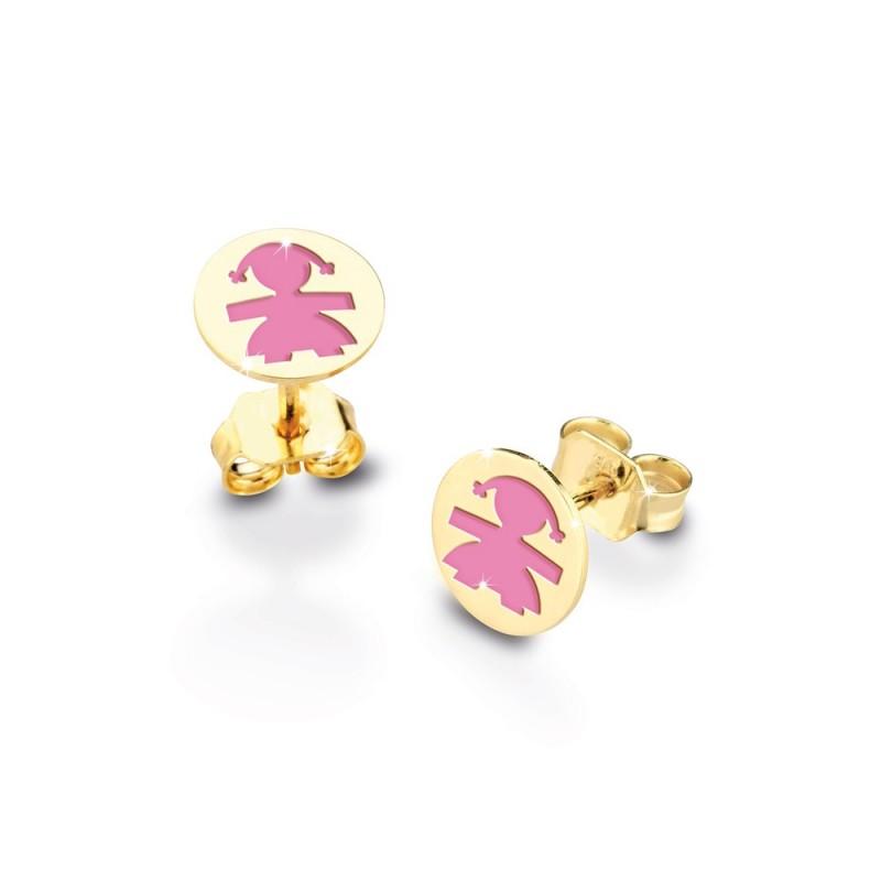 9K Cuff Earrings in  WG