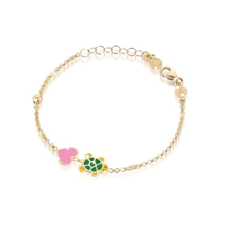 """9k YG Bracelet """"LUCKY"""" for kids"""