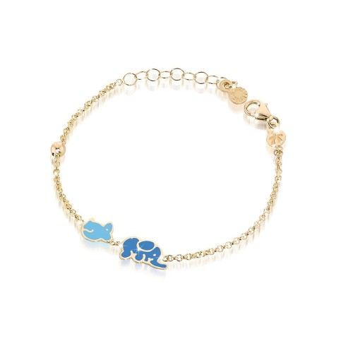 "9k YG Bracelet ""LUCKY"" for kids"