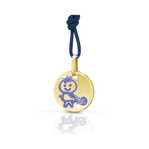 "9K YG Pendant ""ZODIAC"" for kids"