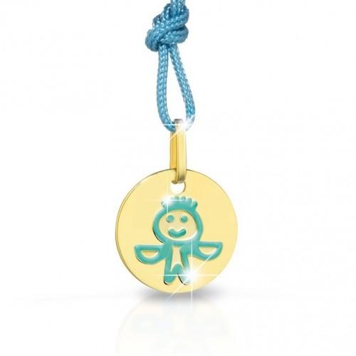 """9K YG Pendant """"ZODIAC"""" for kids"""