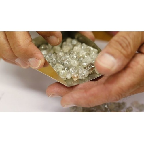 Evaluation of rough diamond