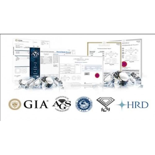 Certification of loose diamond