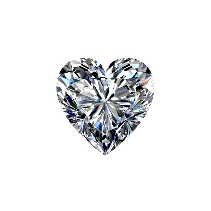 1,01 carat, HEART Cut, color G, Diamond