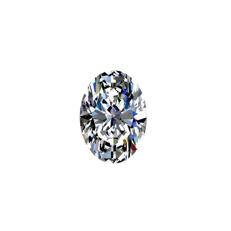 0,9 carat, OVAL Cut, color I, Diamond