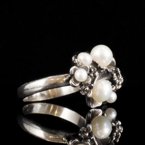 """Сребърен пръстен """"Блуум"""""""