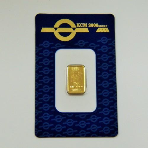 Златно кюлче 2.5 грама