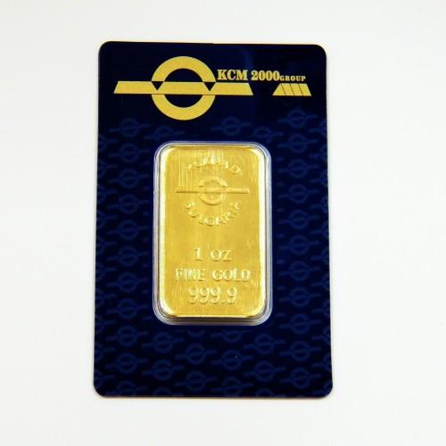 Златно кюлче 31.104 грама