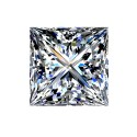 0.8 carat, PRINCESS Cut, color G, Diamond