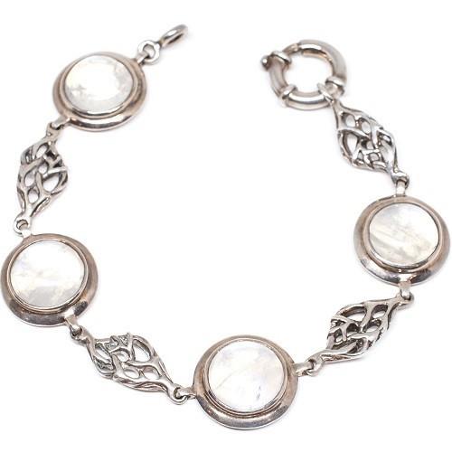 """Silver bracelet """"Sakura"""""""