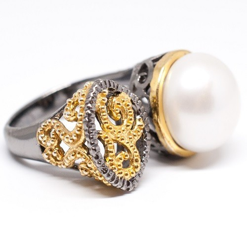 "Silver ring ""Heidi"""