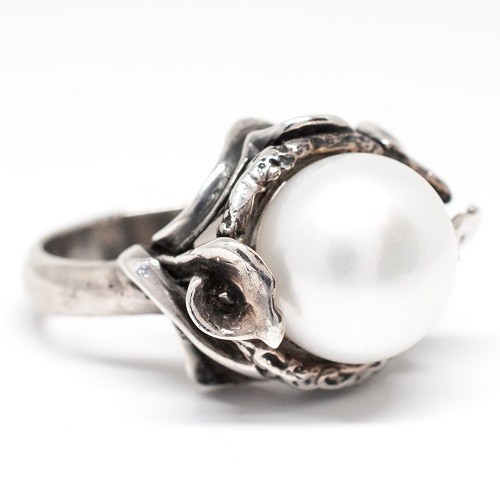 "Silver ring ""Purity"""