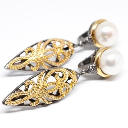 """Silver earrings """"Heidi"""""""
