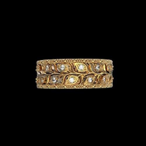 """Диамантена брачна халка от колекция """"Звездно небе"""" 188"""