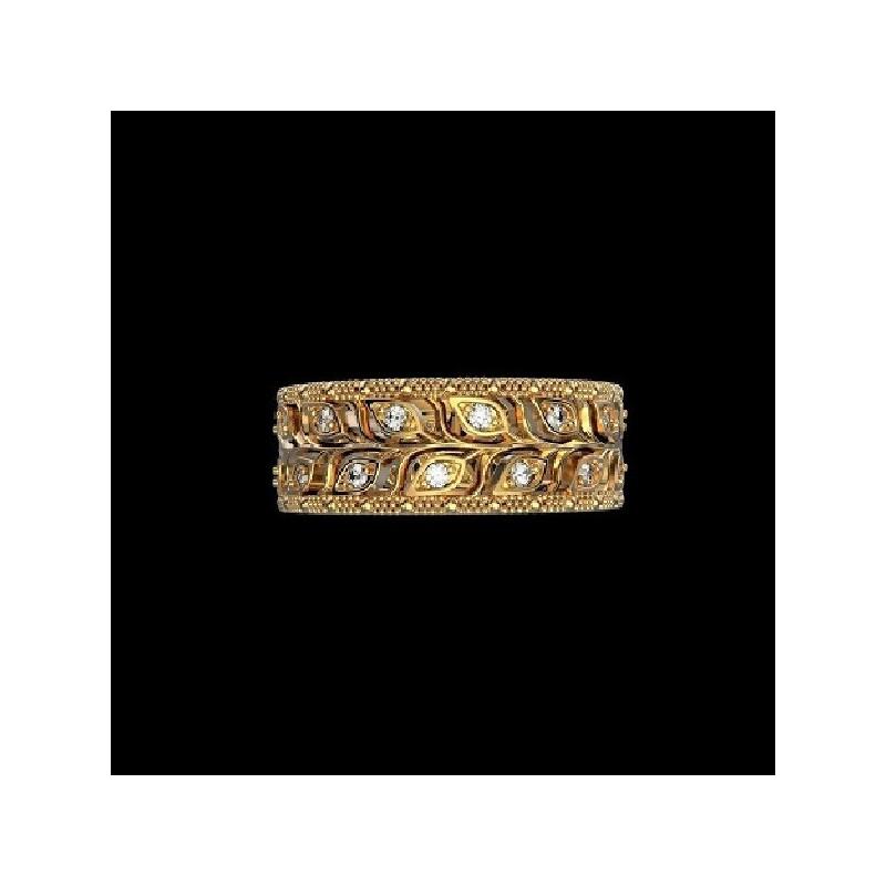 """Диамантена брачна халка от колекция """"Звездно небе"""" 155"""