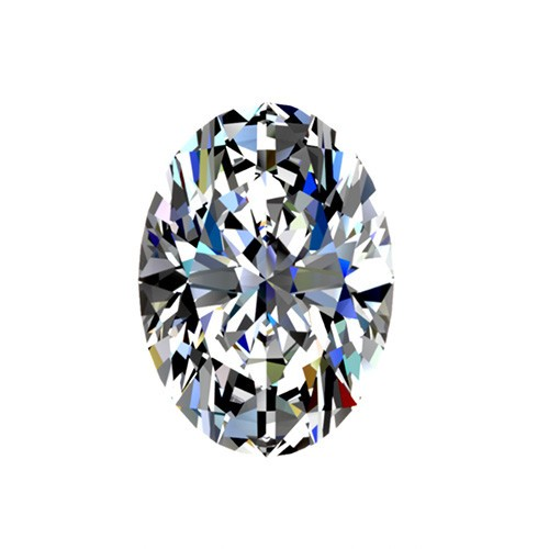 1 carat, Oval cut, color G, Diamond