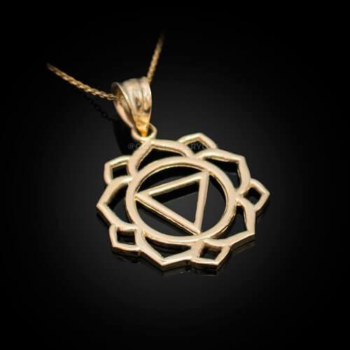 Колие Манипура 14К злато с тегло 2,90гр.