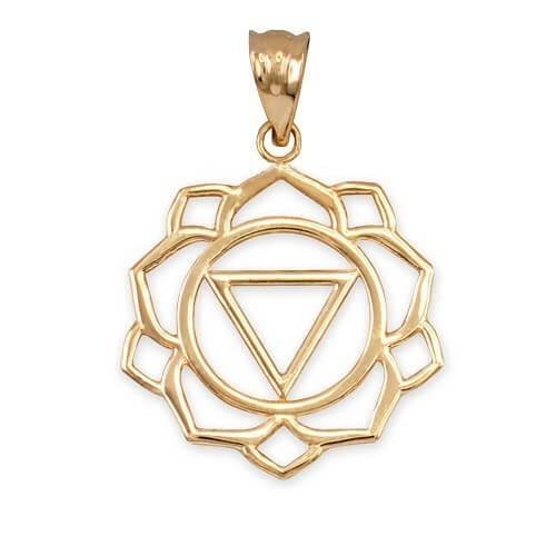 Necklace Manipura 14K Gold with weight 2.9gr