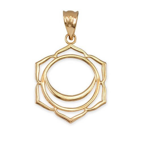 Necklace Svadisthana 14K Gold with weight 2.97gr
