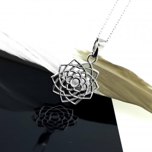 Necklace Sahasrara 14K Gold with weight 3,5gr