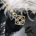 Necklace Muladhara 14K Gold with weight 2,76gr