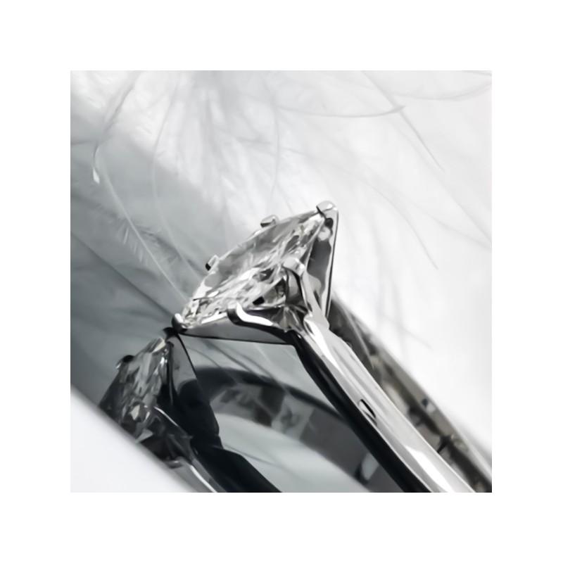Годежен пръстен 18К злато и диаманта с тегло 0.46ct,