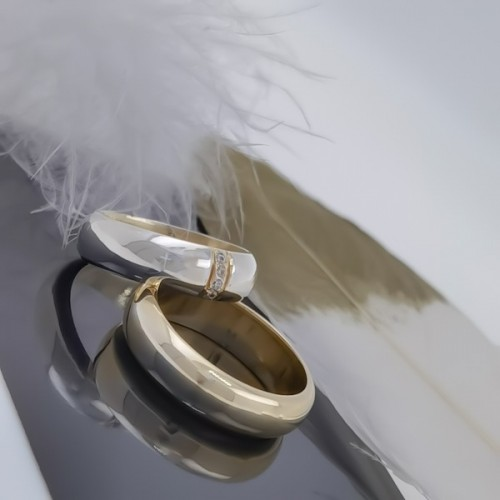Комплект брачни халки модел R100