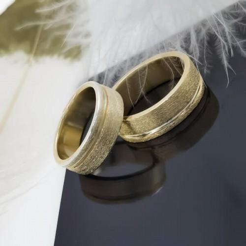 Комплект брачни халки модел RC117
