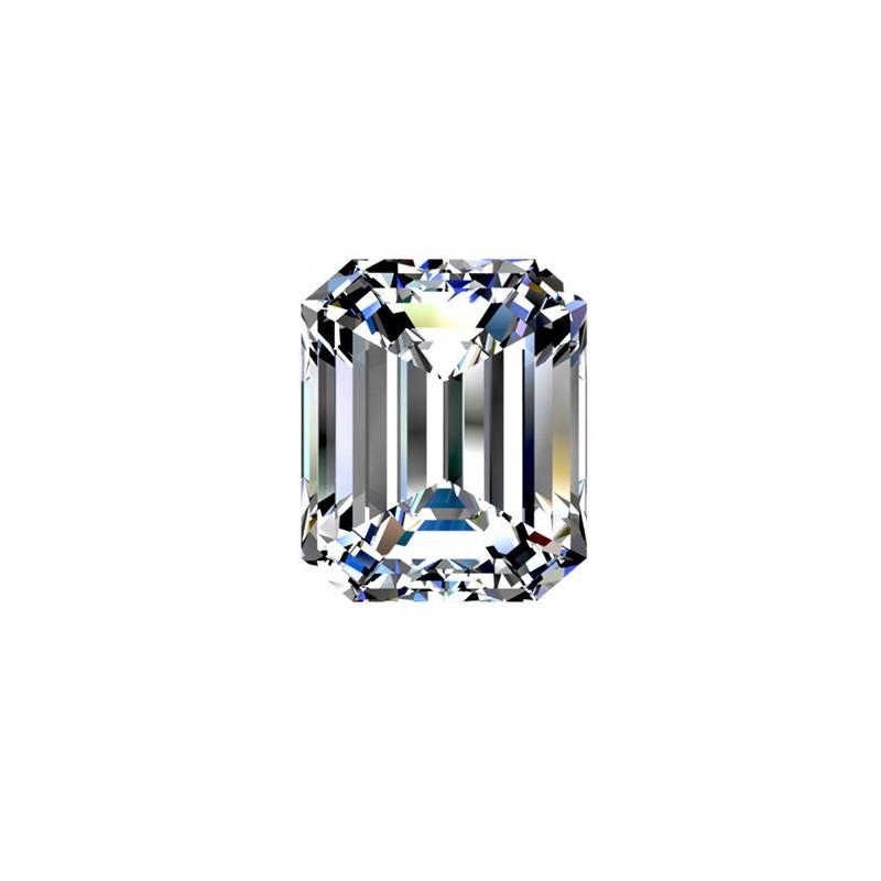 2.01 carat, Emerald cut, color G, Diamond