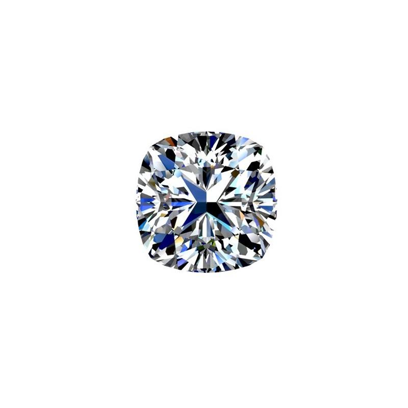 2.51 carat, Cushion cut, color H, Diamond