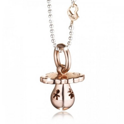 PENDANT 925 SILVER ROSE GOLD-PLATED